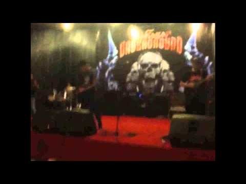 Distopsy perform in Makassar Underground