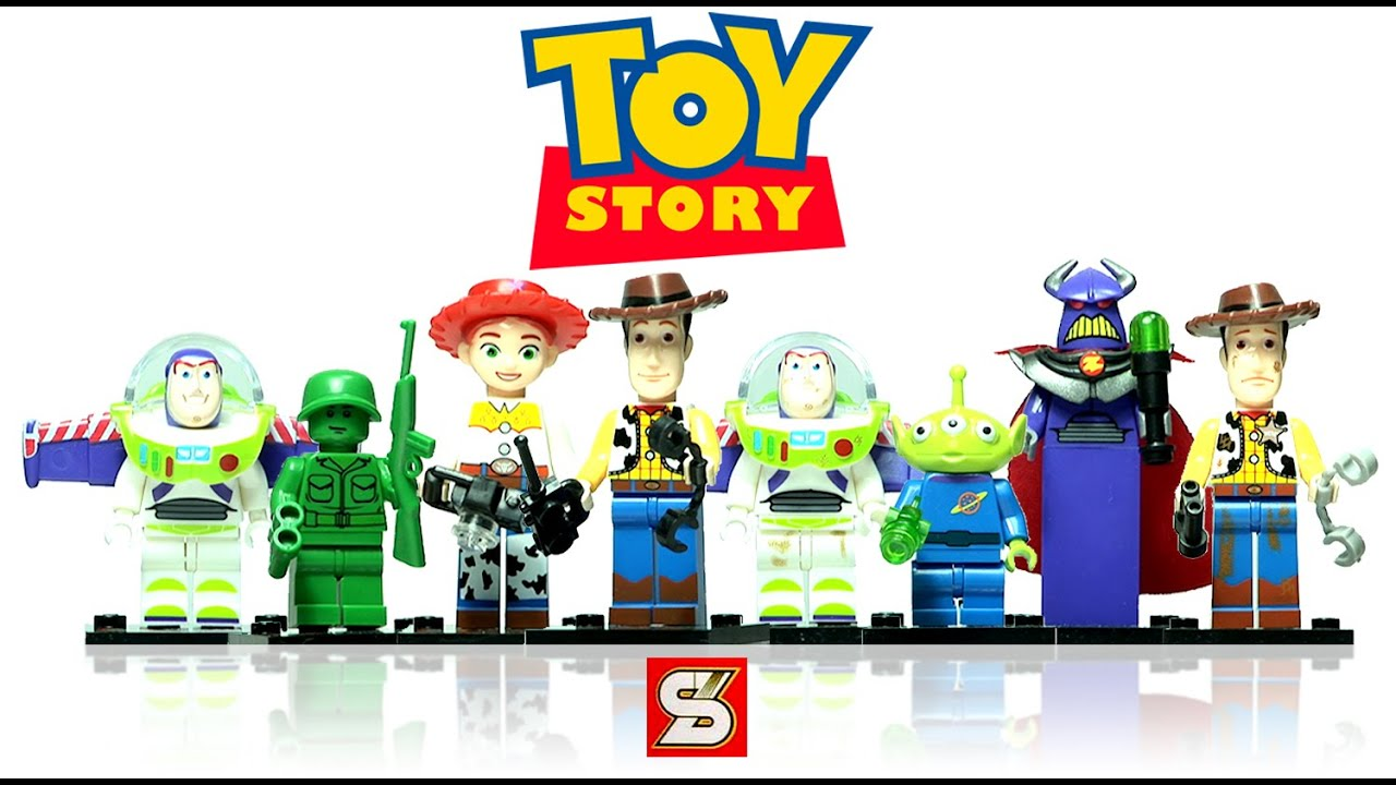 Unboxing lego toy story minifigures knockoff from - Lego toys story ...