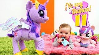 ¡yo soy bianca jugamos con my little pony