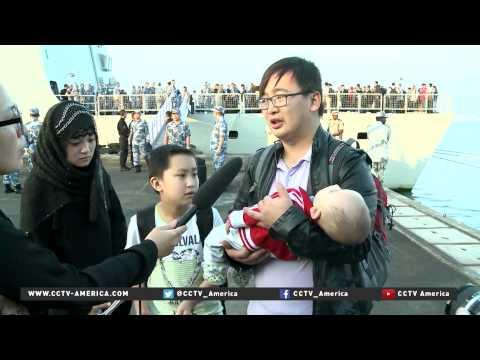 Hundreds of Chinese nationals evacuated from Yemen