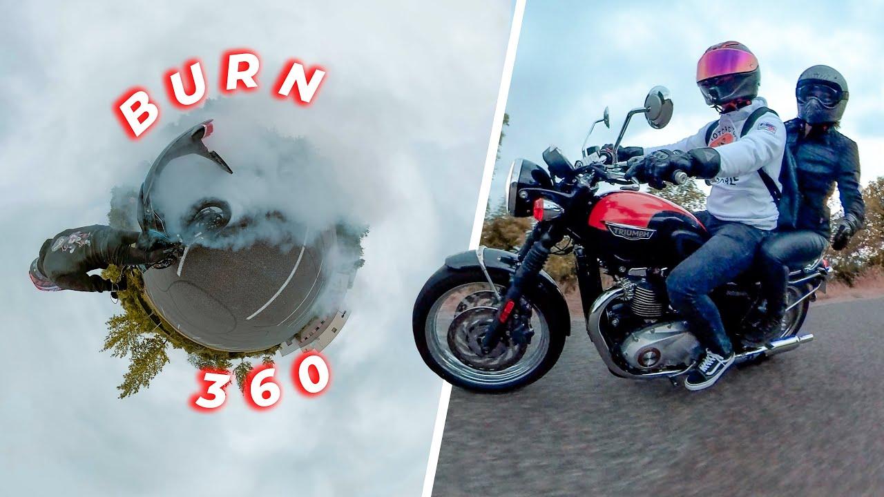 Comment créer des plans fous à moto 🔥 Insta360 ONE R