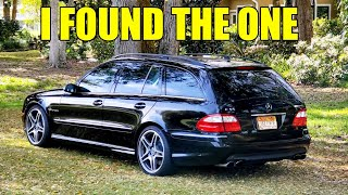 I Bought A TOTAL BARGAIN E55 AMG WAGON! Came with $35,000 In Repair Receipts,