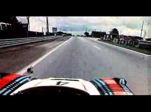 Qualifying Le Mans 1977 — on-board Porsche 936/77 Spyder
