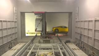 RoboVault Automobile Retrieval System