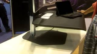 Infocomm 2015: Innovative Office Products Demos The Winston Sit/stand Workstation