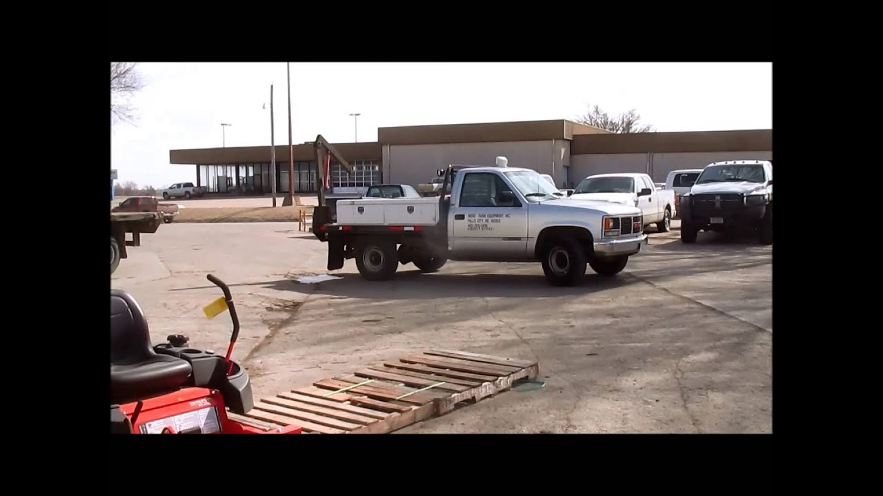 small resolution of 1991 gmc sierra 2500 sl flatbed pickup truck for sale sold at auction march 25 2015