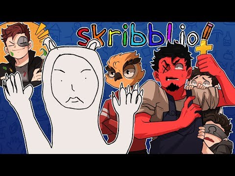 WHAT IS THIS ABOMINATION!? | Skribblio Funny Moments ( w/ Vanoss, Ohm, Terrorizer, & 407)