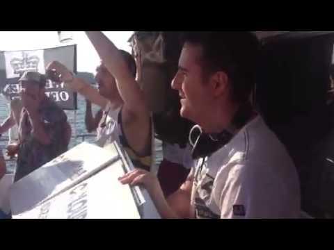 David McKnight on Colours Ibiza Sessions Boat Party, Ibiza