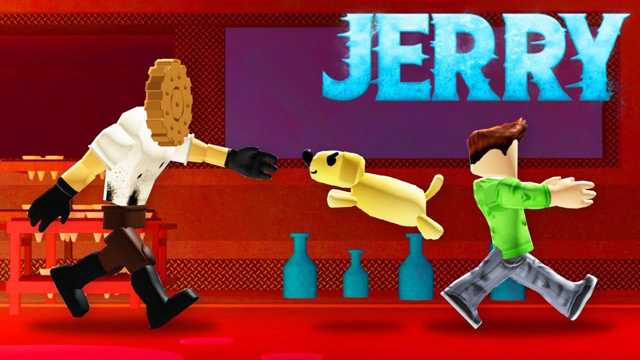 7 JERRY FLOOR 2 Secrets in ROBLOX JERRY!