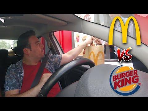 McDonald's VS Burger King; Arabaya Serviste En Hızlı KİM?