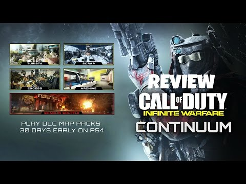 Infinite Warfare DLC 2: CONTINUUM Map Pack Review (CoD:IW)