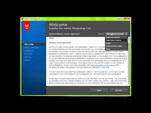 Adobe CS5 | Photoshop Install