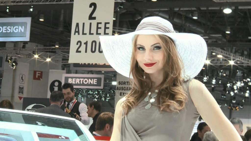 Geneva 2012 - Sexy Girls at Geneva Motor Show