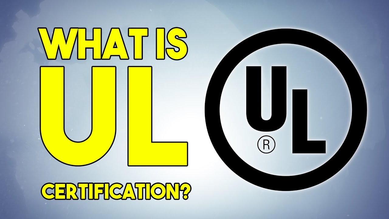 What is ul certification asianprosource youtube xflitez Gallery