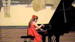 Anna Sent, F. Chopin, Nocturne op. 9 Nr. 2, Es-dur