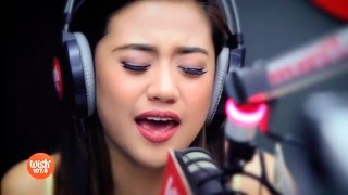 "Morissette sings ""Throwback"" LIVE on Wish 107.5 Bus"