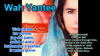 Amrit Kirtan - Wah yantee from the album Sacred circle