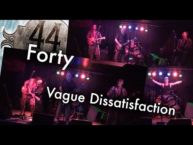 Vague Dissatisfaction