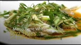 Marco Pierre White Recipe - Sea Bass