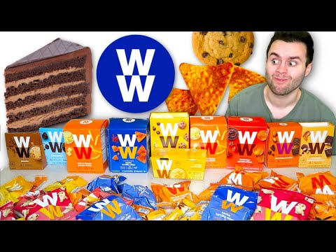 I Tried Weight Watchers JUNK FOOD... Is It Any Good?! - Taste Test!