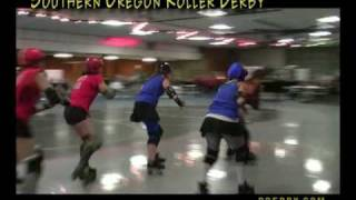 "RVTV Music Video ""Southern Oregon Roller Derby"" Medford, Oregon"