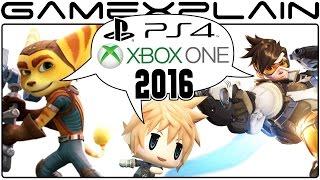 Sony & Microsoft 2016 Year in Review Part 1: FFXV, Inside, The Last Guardian, Overwatch, & More