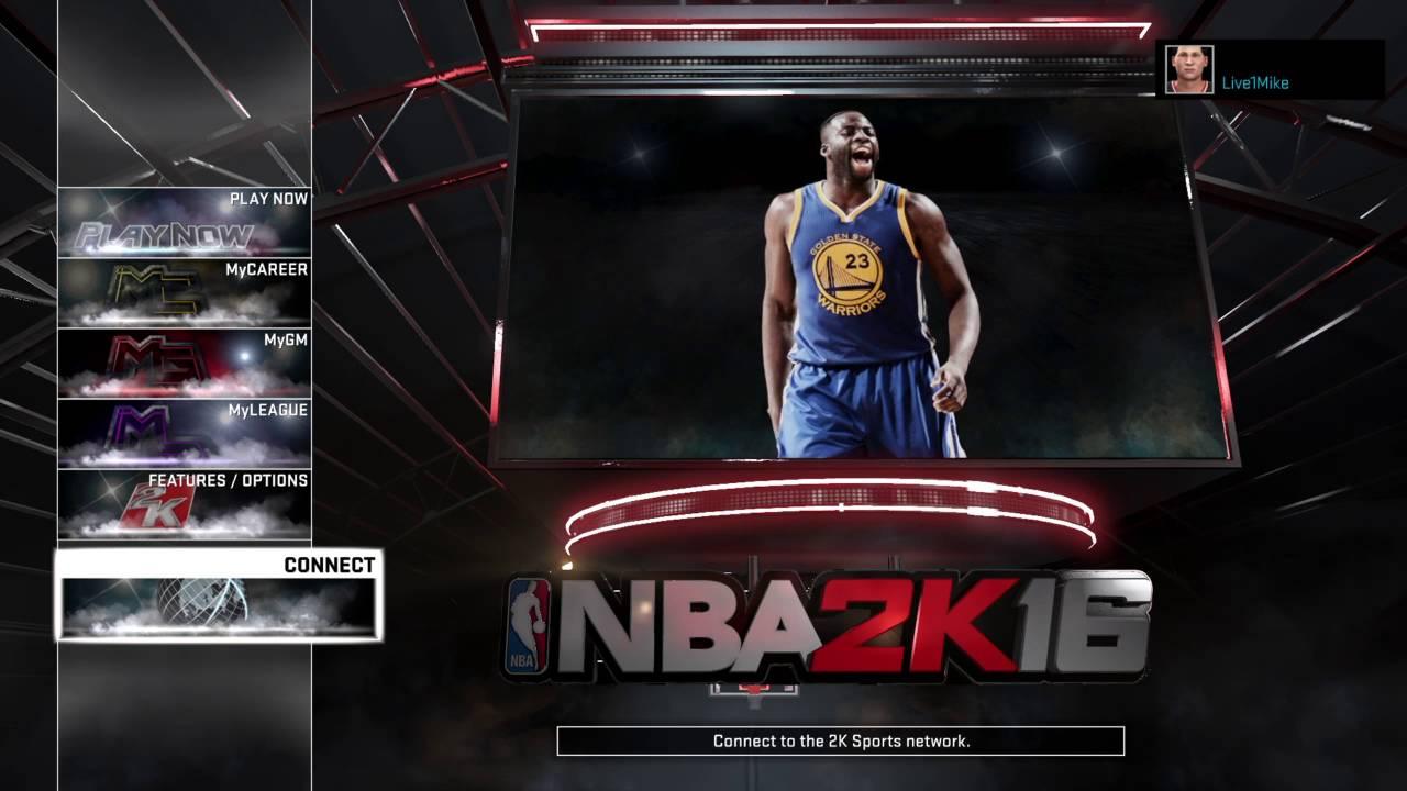 NBA 2K16 error code 4b538e50 - YouTube