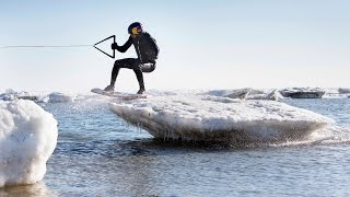 Red Bull: Wakeskating Icebergs in Cape Cod w/ Brian Grubb