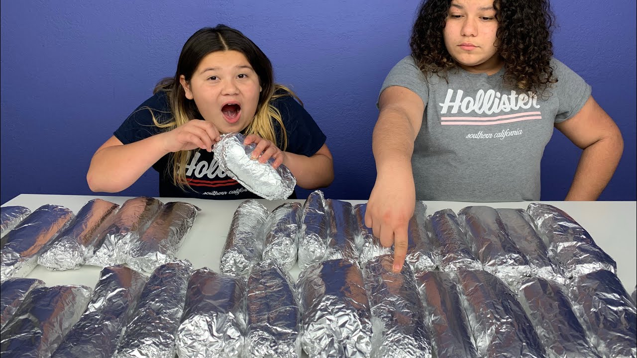 Slime Master Mary And Izzy: Don't Choose The Wrong Burrito Slime Challenge