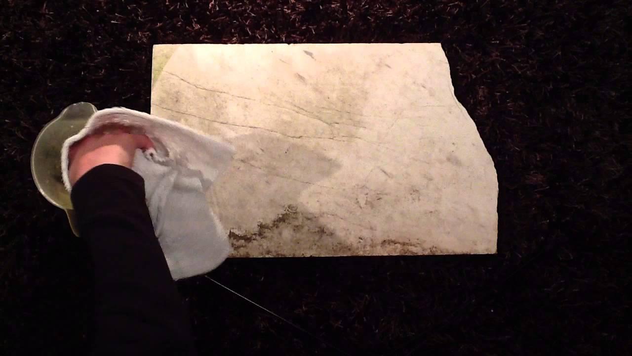 Natursteinplatten richtig reinigen steinfliesen s ubern youtube - Steinfliesen reinigen ...