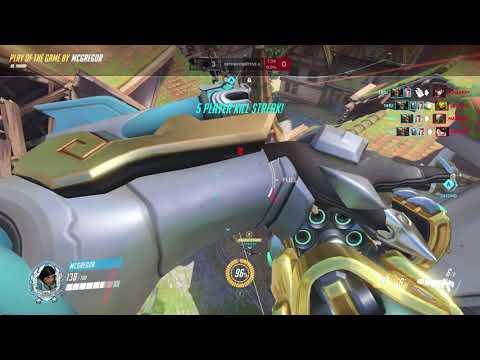 Pharah - How To Kill Everyone and Escape a DVA bomb