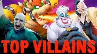 top 10 most evil villains countdown