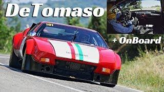 De Tomaso Pantera Gr.4 by Luigi Moreschi Motorsport - Action + OnBoard at Vernasca Silver Flag 2018