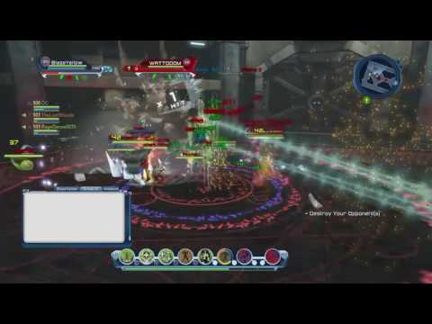 DCUO PvP (4s): Eminence vs Team Vicious  (Nature heal PoV)