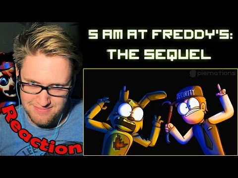 5 AM at Freddy's: The Sequel REACTION!   WHERE'S THE KID!?  