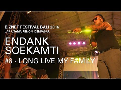Biznet Festival Bali 2016 : Endank Soekamti - Long Live My Family