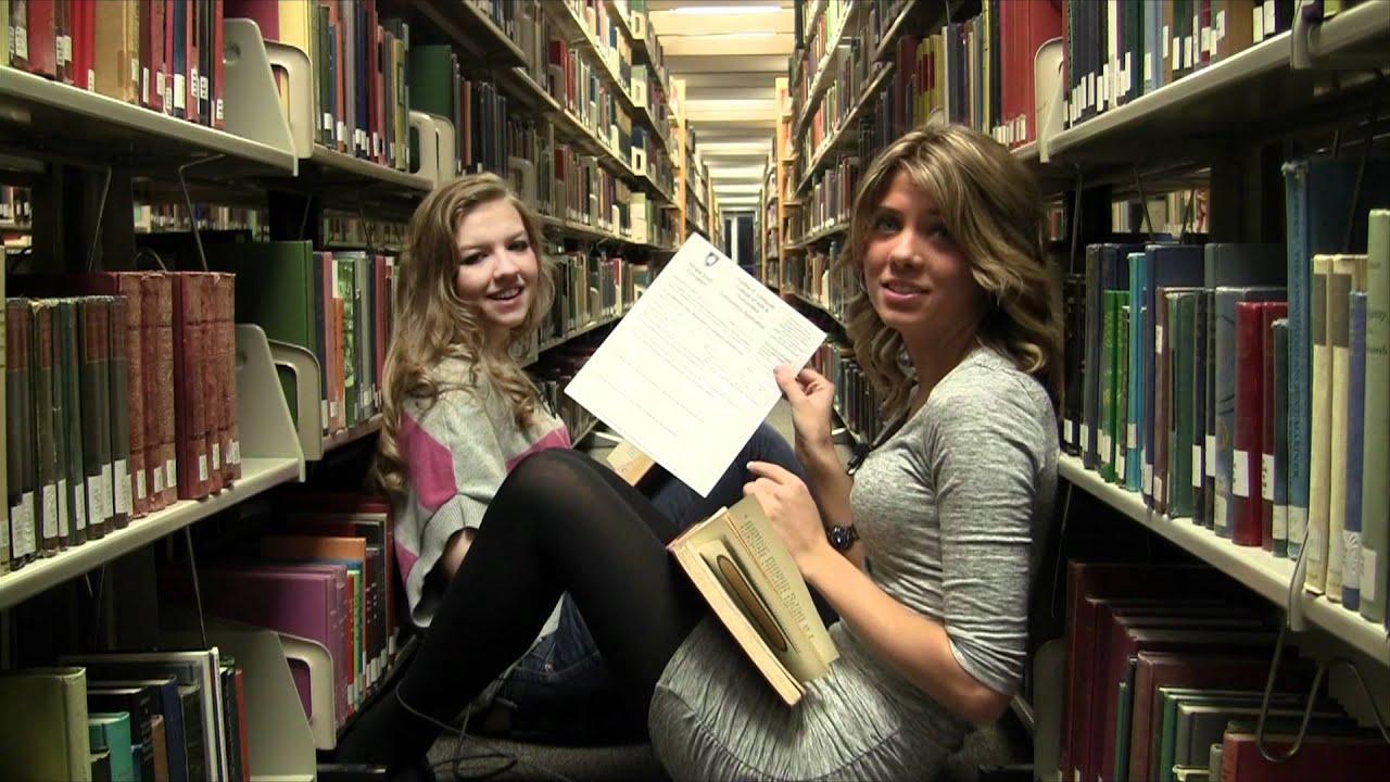 Lesbian librarian