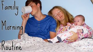Teen Parents Morning Routine