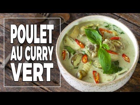 poulet-au-curry-vert-recette-de-pâte-de-curry---le-riz-jaune