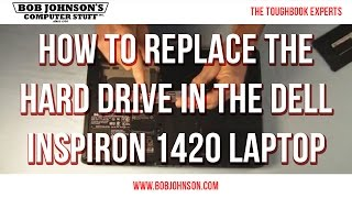 How to replace the Hard Drive in the Dell Inspiron 1420 Laptop