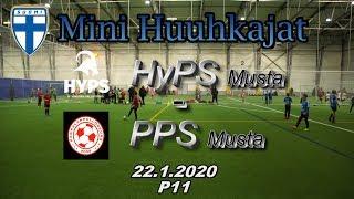 Mini Huuhkajat P11 HyPS Musta vs PPS Musta 22.1.2020