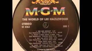 Lee Hazlewood - My Autumn's Done Come