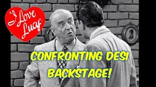 When Bill Frawley (Fred Mertz) confronted Desi Arnaz & Lucille Ball!!! I Love Lucy!