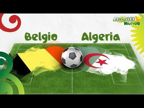 BetterLab Mundo Live Belgio-Algeria
