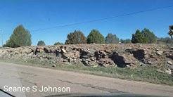 Driving around Cibecue, Arizona