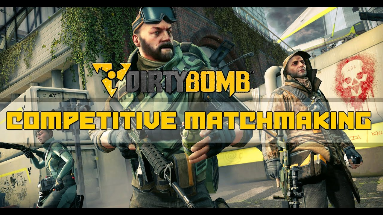 How do you party up with people? :: Dirty Bomb