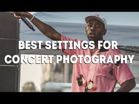 BEST CAMERA SETTINGS FOR CONCERT PHOTOGRAPHY