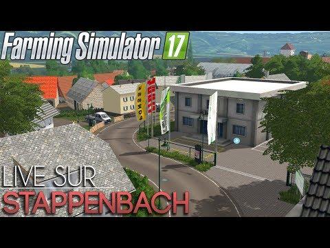 NOUVELLE VERSION DE LA MAP STAPPENBACH ! Farming Simulator 17 ! 🚜