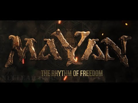 MaYaN - The Rhythm Of Freedom (OFFICIAL LYRIC VIDEO)