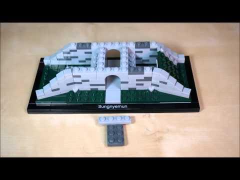 Sungnyemun HD - Lego Architecture 21016 Stop Motion Build